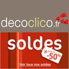 DECOCLICO : Soldes d'hiver jusqu'à 50% de réduction