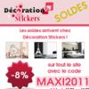 DECORATION STICKERS : Soldes avec 8% de réduction sur les stickers