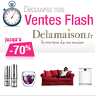 DELAMAISON : 4 ventes flash Déco