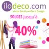 ILODECO : Jusqu'à 40% de réduction pour les soldes