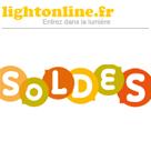 LIGHTONLINE : Les soldes sur le luminaire jusqu'à 40% de réduction