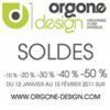 ORGONE DESIGN : Soldes design jusqu'à 50% de réduction