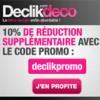 DECLIKDECO : Jusqu'à 65% de réduction + 10% supplémentaire !