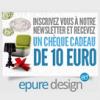 EPURE DESIGN : Un chèque cadeau d'une valeur de 10 euros