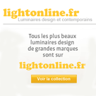 LIGHTONLINE : Le luminaire design et contemporain à portée de main