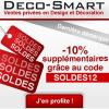 DECO-SMART : Les derniers codes promo décoration + produits soldés