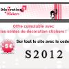 DECORATION STICKERS : Des nouveaux stickers + 5 euros de remise