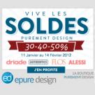 EPURE DESIGN : Des produits déco purement design soldés