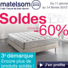 MATELSOM : Produits soldés + réduction de 50 euros
