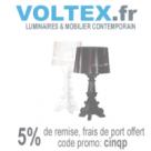 VOLTEX : 5% de réduction et la livraison offerte