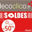 DECOCLICO : Soldes d'été jusqu'à 50% de réduction