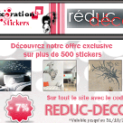 DECORATION STICKERS : En exclusivité code promo de 7% de réduction
