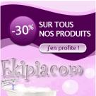 EKIPIA : 30% de réduction sur tous les produits du site