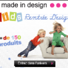 MADE IN DESIGN : La rentrée Design des enfants