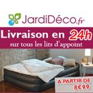 JARDIDECO : Livraison en 24h sur les lits d'appoint gonflables