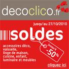 DECOCLICO : Soldes jusqu'à 50% de réduction