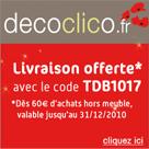 DECOCLICO : Livraison gratuite pour Noël