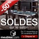 MEUBLES : Soldes jusqu'à 50% de remise