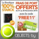 OBJECTS BY : Les frais de port offerts